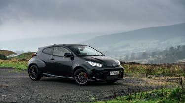 2021 Toyota GR Yaris black - front static