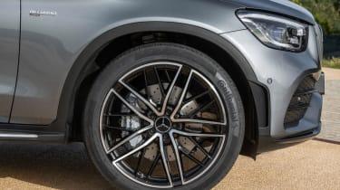 2019 Mercedes-AMG GLC 43 coupe wheel