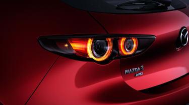 Mazda 3 hatch revealed - rear lights