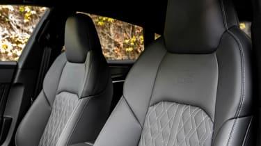 Audi S7 TDI - seats