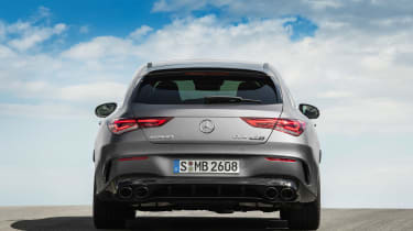 Mercedes-AMG CLA45 S Shooting Brake - rear