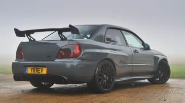 Revolution Project STI Nurburgring Subaru Impreza rear view