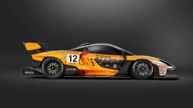 McLaren Senna GTR - profile