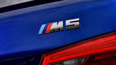 BMW M5 F90 - blue badge