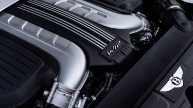 Bentley Continental GT Speed – engine