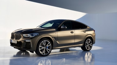 New BMW X6 front