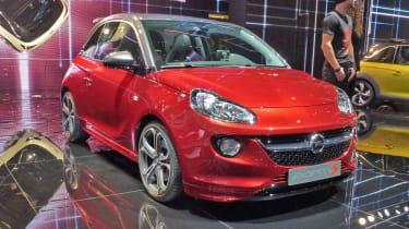 Vauxhall Adam S front