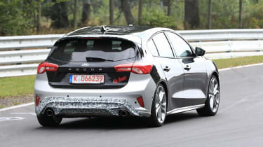 2019 Ford Focus ST prototype - rear