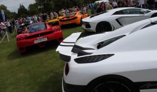 Enzo, Aventador, Agera, MP4-12C, Carrera GT, Veyron
