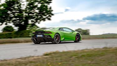 Lamborghini Huracán Evo RWD – rear quarter