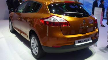 Renault Megane five door hatch brown