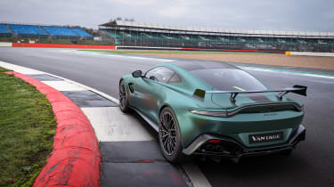 Aston Martin Vantage F1 Edition rear quarter