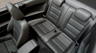 VW Golf Cabriolet rear seat space