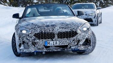 BMW Z4 mule - nose