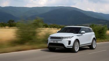Range Rover Evoque - front quarter]