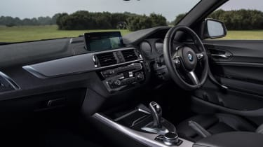 BMW 1-series hatch - interior