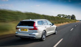 Volvo V60 rear three-quarters