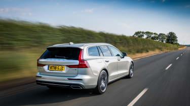 Volvo V60 rear three-quarters
