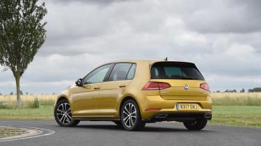 VW Golf - rear three quarter