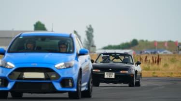 evo Trackday Bedford 27AUG - Mazda MX-5