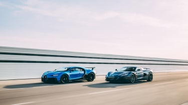Bugatti-Rimac – pair tracking