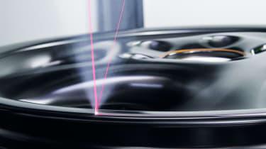 Porsche Classic Project Gold - Laser etching wheel