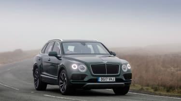 Bentley Bentayga Diesel - front three quarter