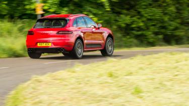 eCoty Porsche Macan GTS - rear
