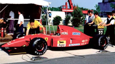 1992 Ferrari F92A/644 Jean Alesi