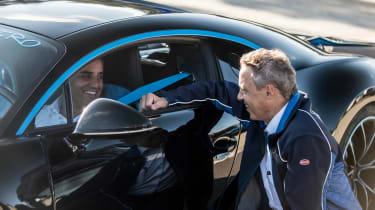 Bugatti Chiron '42' record breaker - speed