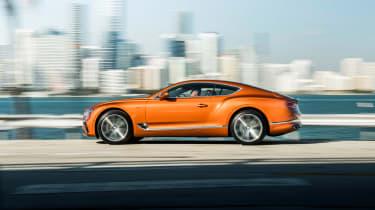 Bentley Continental GT V8 - profile