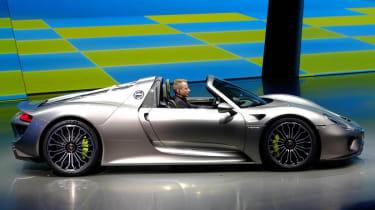Porsche 918 Spyder: Frankfurt motor show 2013