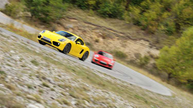 evo Car of the Year 2013 video: Porsche Cayman S and 911 GT3