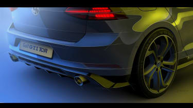 Golf GTi TCR front sketchrear