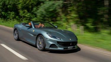 Ferrari Portofino M – front tracking