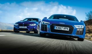 R8 RWS vs M4 CS - header