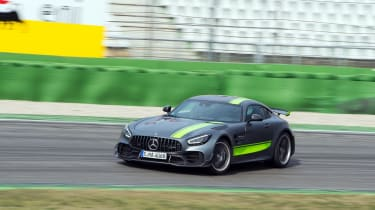 Mercedes-AMG GT R Pro review - front sliding