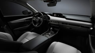 Mazda 3 saloon revealed - interior