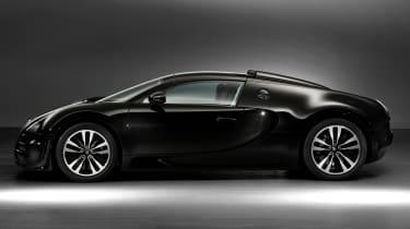Bugatti Veyron 'Jean Bugatti' side profile