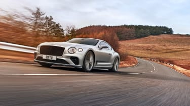2021 Bentley Continental GT Speed - tracking