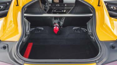 Toyota Supra boot