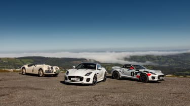 Jaguar F-Type rally car - static