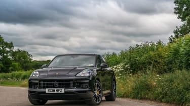 Porsche Cayenne Turbo - Front