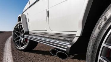 Mercedes-AMG G63 – side steps