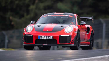 Fastest ever Nürburgring lap times Porsche 911 GT2 RS MR
