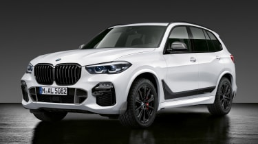BMW X5 M Performance parts - front quarter
