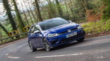 Volkswagen Golf R - front cornering