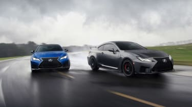 Lexus RC F - tracking