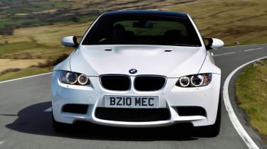 BMW M3 Competition nose tracking