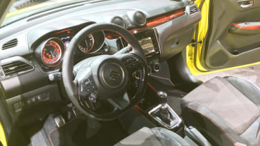 Suzuki Swift Sport frankfurt motor show interior